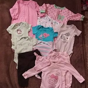 Bundle of baby clothes, 0-3 months